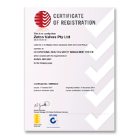 Zetco AS 4801 Certificate