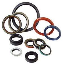O-rings in different sizes