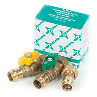 Water Heater Valve Kit