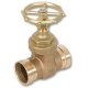 1012 - Zetco WaterMarked DZR Brass Ball Valve M&F DZR Brass T Handle & Nut
