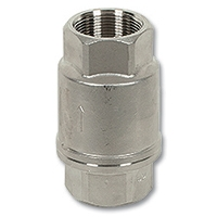 1940 - 2-Piece Stainless Steel Spring Check Valve