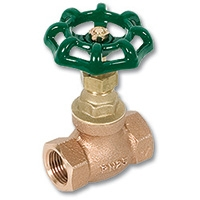 1725 - Zetco Bronze WaterMarked Needle Valve