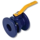 2601 - Zetco AGA Approved Ductile Iron Flanged Ball Valve