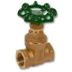 1703 - Tour & Andersson DZR Brass Tested Gate Valve