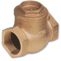 1805 - Bronze WaterMarked Swing Check Valve
