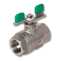 4401 - Zetco WaterMarked 2-Piece Stainless Steel Ball Valve F&F T Handle