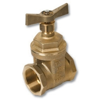 1715 - Tour & Andersson DZR Brass Tested Gate Valve c/w DZR Brass T Bar