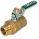 1008 - Zetco WaterMarked & AGA Approved DZR Brass Ball Valve M&F Lockable Lever Handle