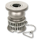 4024 - Zetco Stainless Steel Flanged Foot Valve
