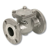 4640 & 4641 - Stainless Steel Flanged Swing Check Valve