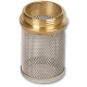 1521 - Stainless Steel Filter Basket Brass Thread