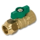 1706 - Zetco Bronze WaterMarked Gate Valve F&F