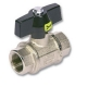 2002 - Airy Brass Self Venting Ball Valve F&F T Handle