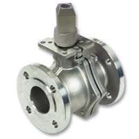 4482 & 4483 - Zetco WaterMarked 2-Piece Stainless Steel Flanged Underground Ball Valve