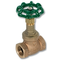 2010 - Zetco Bronze WaterMarked Screwed Bonnet Globe Valve Metal Disc