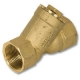 1504 - Zetco WaterMarked DZR Brass Y Strainer