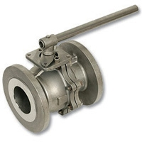 4085 - Zetco 2-Piece Stainless Steel Flanged Ball Valve