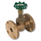 2020 - Zetco Bronze Screwed Bonnet Flanged Globe Valve