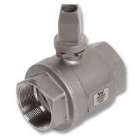 4406 - Zetco WaterMarked & AGA Approved 2-Piece Stainless Steel Underground Ball Valve F&F