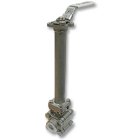 4435 - Zetco Cryogenic 3-Piece Stainless Steel Ball Valve