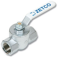 2702 - T4 Top Entry Ungreased Brass Ball Valve